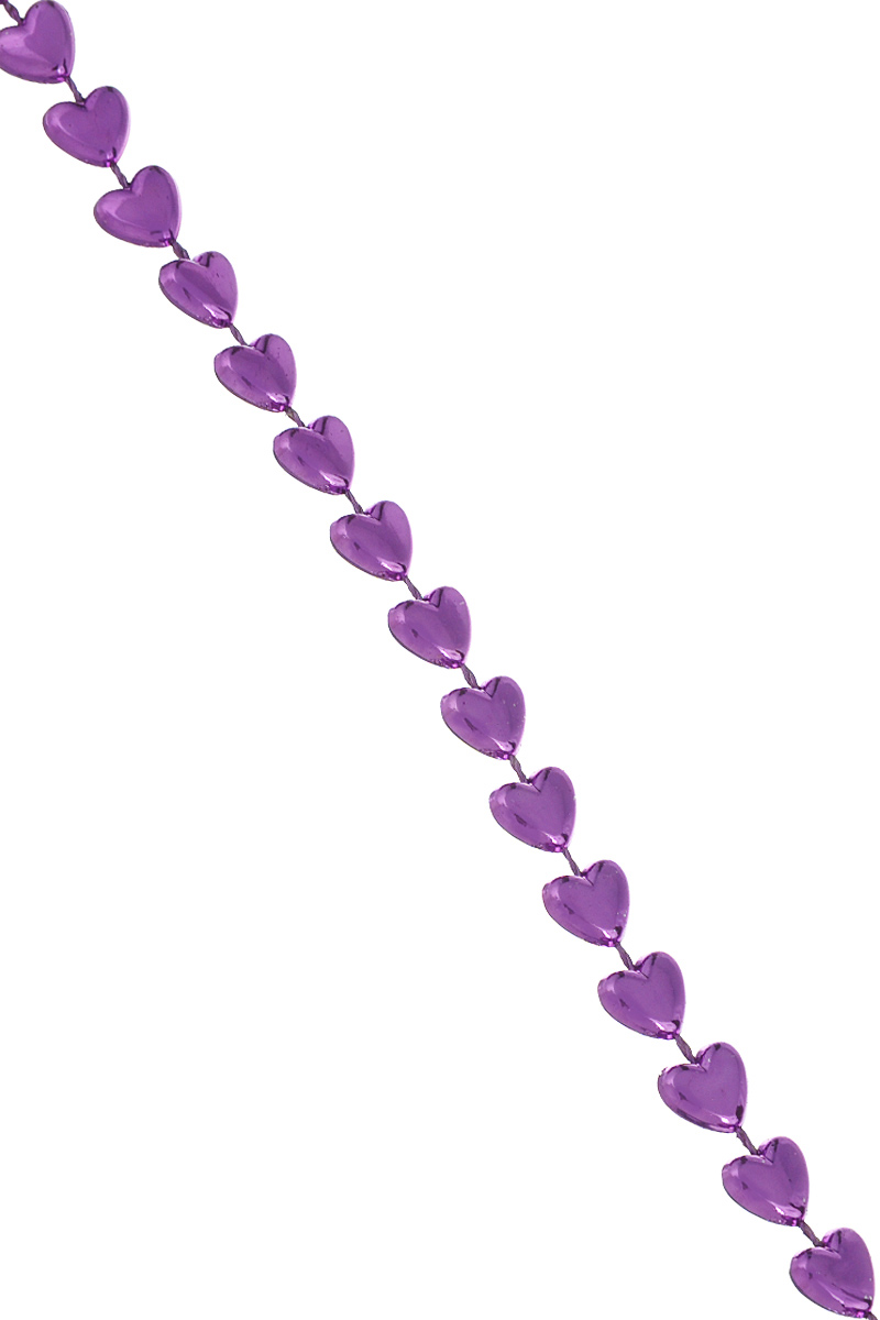 Новогодняя гирлянда Lunten Ranta Сердечки, цвет: фиолетовый, длина 2 м новогодняя гирлянда lunten ranta цвет серебристый длина 2 м 65515