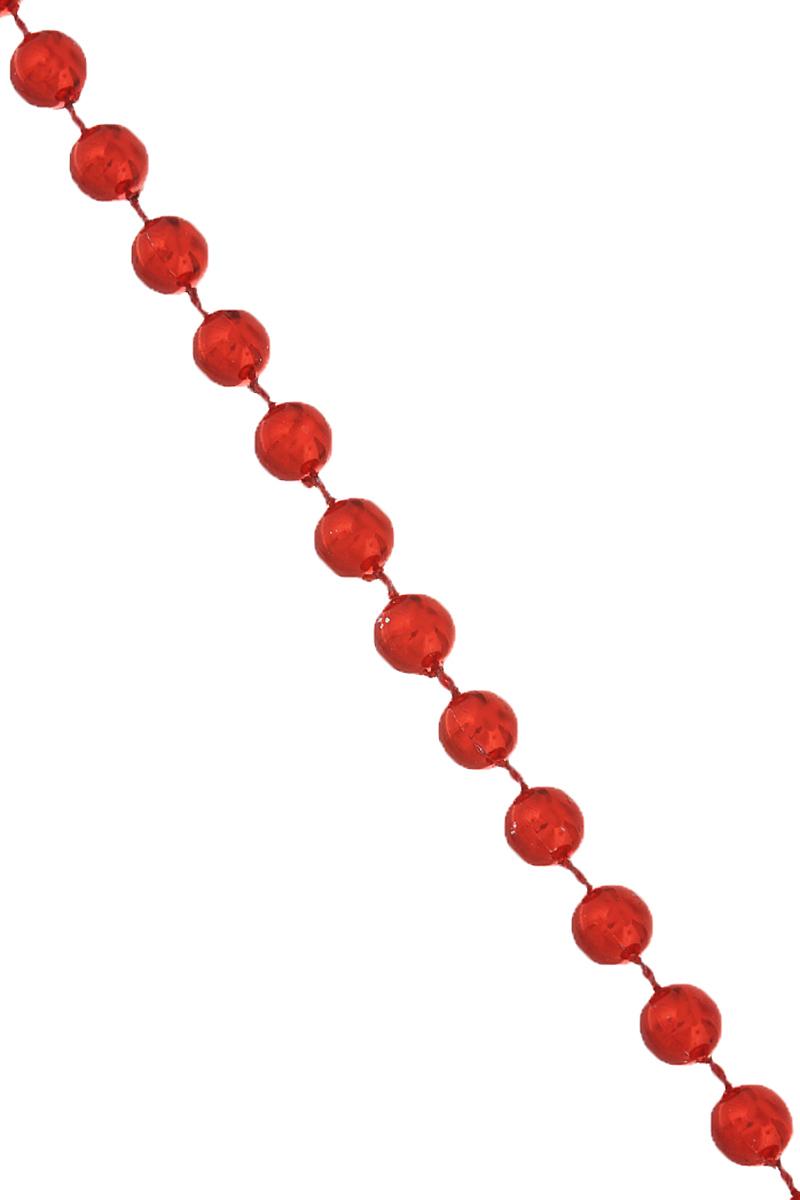 Новогодняя гирлянда Феникс-презент Бусы с шариками, цвет: красный, длина 2,7 м38677Новогодняя гирлянда Феникс-презент Бусы с шариками, изготовленные из высококачественного полистирола, прекрасно подойдут для декора дома или новогодней ели. Изделие представляет собой цепочку из множества мелких бусин. Гирлянда создаст сказочную атмосферу и подарит ощущение праздника. Откройте для себя удивительный мир сказок и грез.Диаметр бусины: 6 мм.
