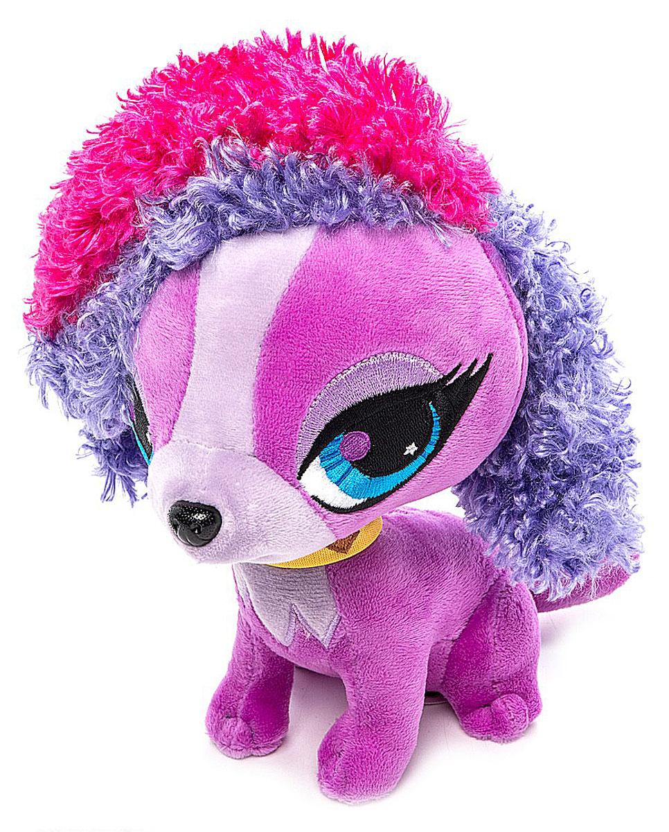 Littlest Pet Shop Мягкая игрушка Зверушка Зое цвет фиолетовый 21 см доска пиши стирай 21 27 2 5см littlest pet shop на магнитах маркер с магнитом
