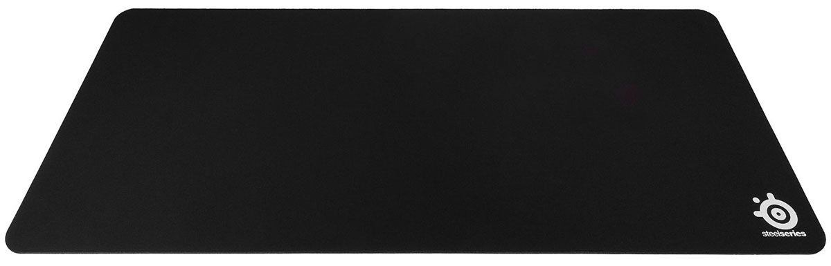 SteelSeries QcK XXL, Black коврик для мыши67500Коврик для мыши SteelSeries QcK XXL увеличенного размера легко растягивается лентой почти на всю длину стола, предлагая большое поле для передвижения мышкой. Для создания SteelSeries QcK XXL использована высококачественная ткань, по которой мышь будет двигать плавно и без скачков, пробуксовок или срывов сенсора. Курсор всегда будет только в том месте, где и должен быть. Благодаря своему внушительному размеру данный коврик идеален для людей, увлеченных компьютерными играми.