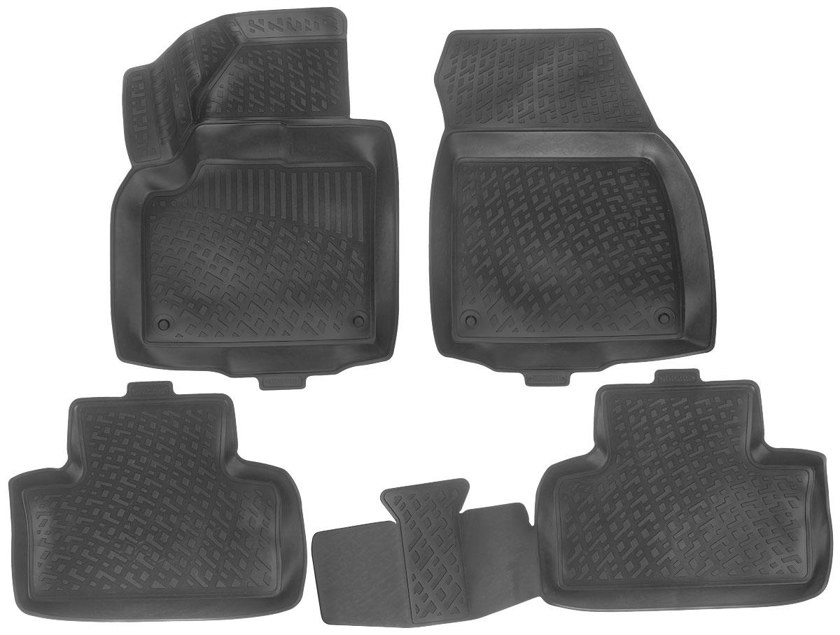 Набор автомобильных ковриков L.Locker Land Rover/Range Rover Evoque 2011, в салон, 4 шт коврики в салон land rover range rover 2005