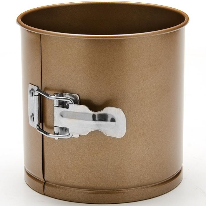 24276 Форма для выпечки кулича 14х14см LR (х12)24276Форма для выпечки куличаМатериал: углеродистая сталь с антипригарным покрытием. Толщина стенок:: 0,5 см. Размер: 14 х 14 см Количество: 1 предмета Вес: 280 гФорма для выпечки Mayer & Boch изготовлена из высококачественной углеродистой стали. Она имеют антипригарное покрытие, которое препятствует пригоранию и обеспечивает легкую очистку после использования. Форма легко разбираются при помощи специального механизма, что облегчает приготовление выпечки.С такой формой вы всегда сможете порадовать своих близких оригинальной выпечкой.