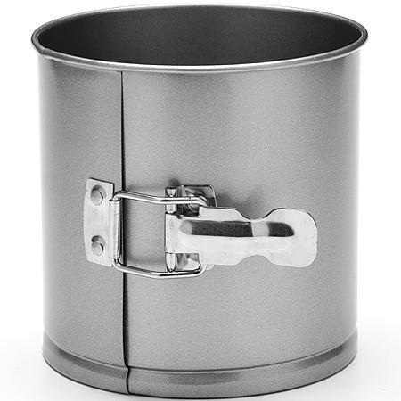 24286 Форма для выпечки кулича 14х14см LR (х12)24286Форма для выпечки куличаМатериал: углеродистая сталь с антипригарным покрытием.Толщина стенок:: 0,5 см.Размер: 14 х 14 смКоличество: 1 предметаВес: 300 гФорма для выпечки Mayer & Boch изготовлена из высококачественной углеродистой стали. Она имеют антипригарное покрытие, которое препятствует пригоранию и обеспечивает легкую очистку после использования. Форма легко разбираются при помощи специального механизма, что облегчает приготовление выпечки.С такой формой вы всегда сможете порадовать своих близких оригинальной выпечкой.