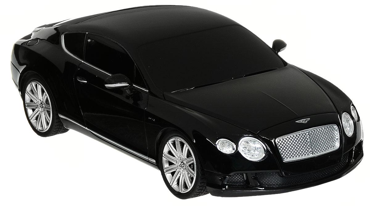 Rastar Радиоуправляемая модель Bentley Continental GT Speed цвет черный масштаб 1:24