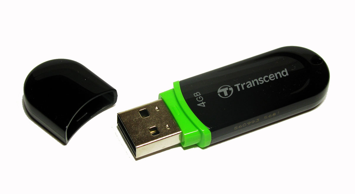 Transcend JetFlash 300 4GB USB-накопитель