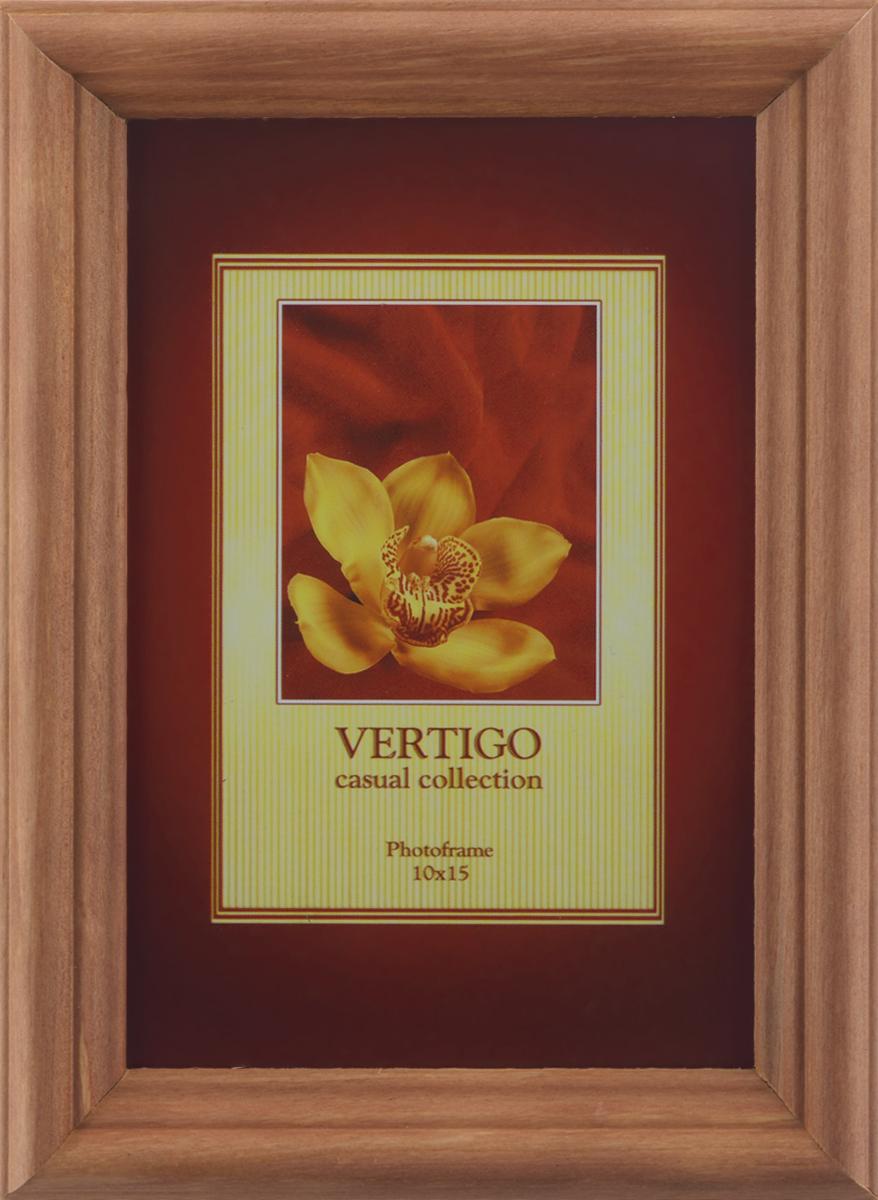"""Фоторамка Vertigo """"Asti"""" выполнена из дерева и стекла, защищающего фотографию. Оборотная сторона рамки оснащена специальной """"ножкой"""", благодаря которой ее можно поставить на стол или любое другое место в доме или офисе. Также изделие оснащено специальными отверстиями для подвешивания на стену.  Такая фоторамка поможет вам оригинально и стильно дополнить интерьер помещения, а также позволит сохранить память о дорогих вам людях и интересных событиях вашей жизни."""
