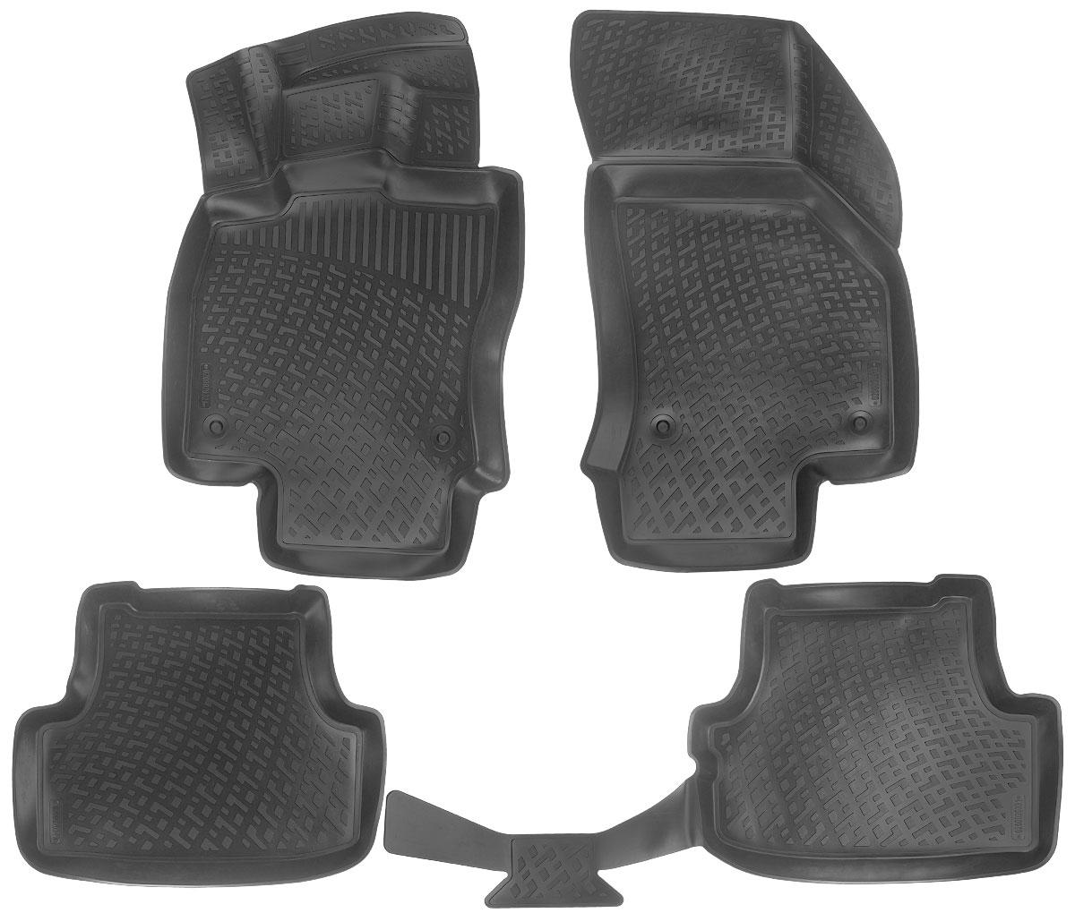 Набор автомобильных ковриков L.Locker Audi A3 (8V) Sportback 2012, в салон, 4 шт0200020301Набор L.Locker Audi A3 (8V) Sportback 2012, изготовленный из полиуретана, состоит из 4 ковриков, которые производятся индивидуально для каждой модели автомобиля. Изделие точно повторяет геометрию пола автомобиля, имеет высокий борт, обладает повышенной износоустойчивостью, лишен резкого запаха и сохраняет свои потребительские свойства в широком диапазоне температур от -50°С до +80°С.В набор входят 7 специальных креплений и инструкция на русском языке по их фиксации.Комплектация: 4 шт.Размер ковриков: 87 см х 55 см; 58 см х 46 см; 106 см х 46 см; 84 см х 51 см.