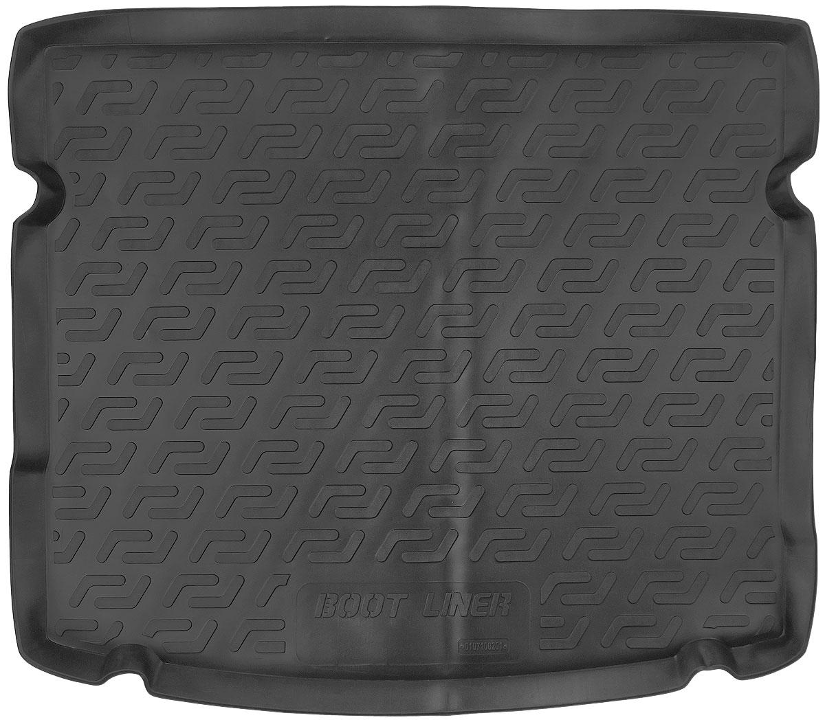 Коврик в багажник L.Locker, для Chevrolet Cruze hb (12-)0107100201Коврик L.Locker производится индивидуально для каждой модели автомобиля из современного и экологически чистого материала. Изделие точно повторяет геометрию пола автомобиля, имеет высокий борт, обладает повышенной износоустойчивостью, антискользящими свойствами, лишен резкого запаха и сохраняет свои потребительские свойства в широком диапазоне температур (от -50°С до +80°С).