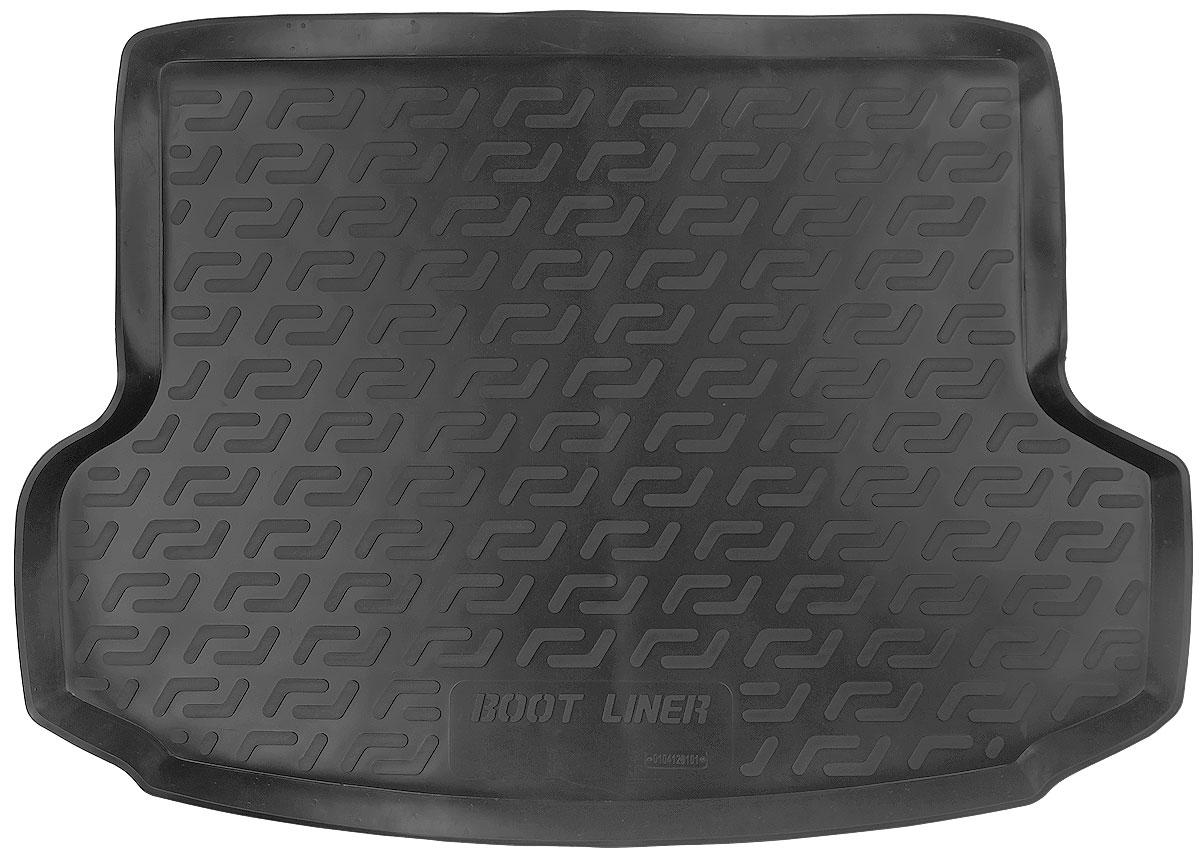 Коврик в багажник L.Locker, для Hyundai ix35 (10-)0104120101Коврик L.Locker производится индивидуально для каждой модели автомобиля из современного и экологически чистого материала. Изделие точно повторяет геометрию пола автомобиля, имеет высокий борт, обладает повышенной износоустойчивостью, антискользящими свойствами, лишен резкого запаха и сохраняет свои потребительские свойства в широком диапазоне температур (от -50°С до +80°С).