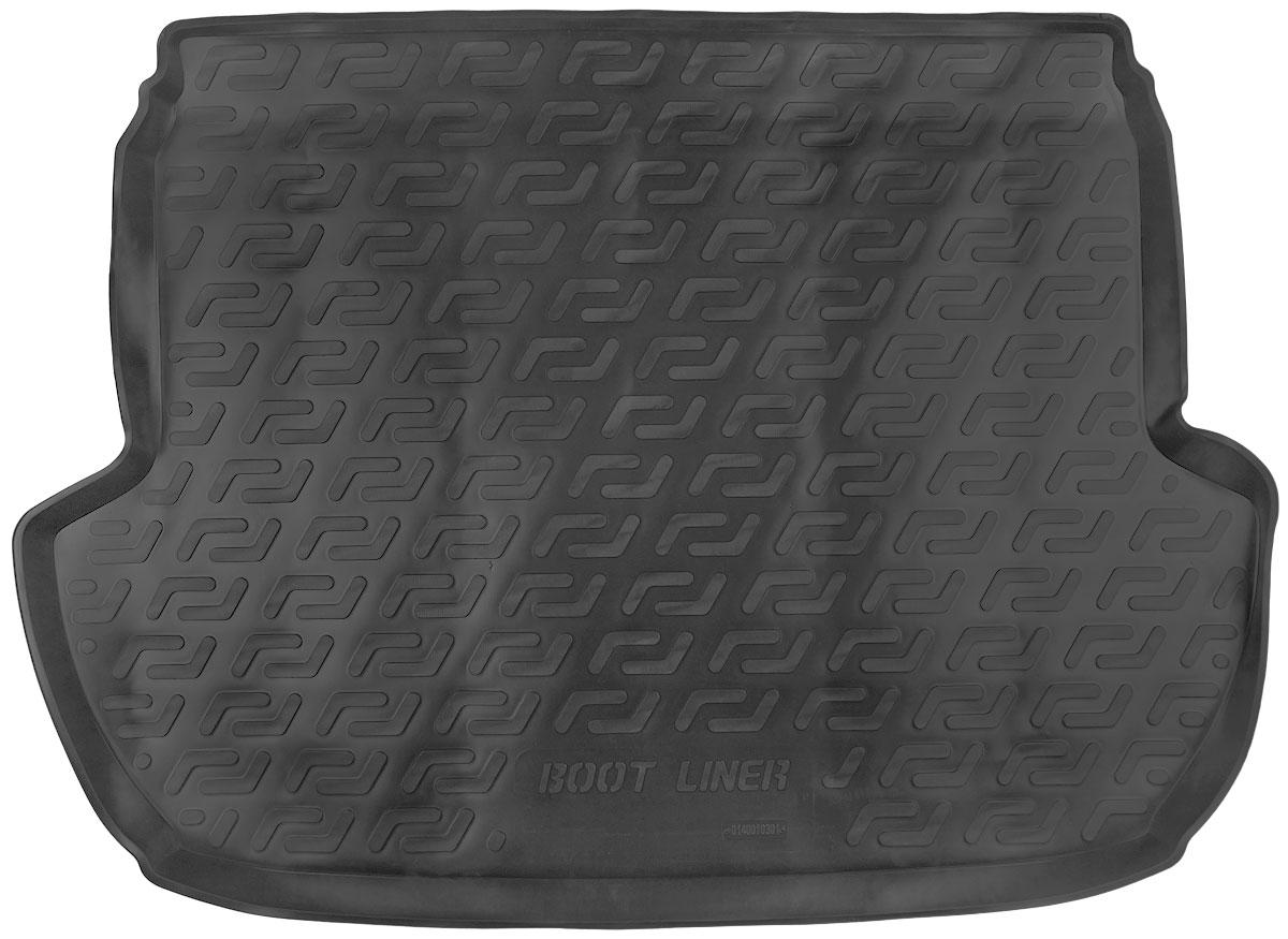 Коврик в багажник L.Locker, для Subaru Forester IV (12-) коврик в багажник l locker для subaru xv 11