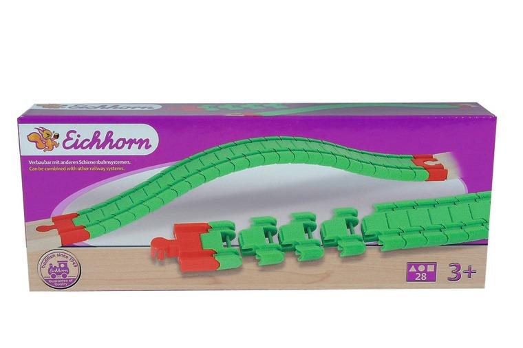 Eichhorn Аксессуар для железной дороги Гибкие рельсы железные дороги eichhorn гибкий тоннель 41 см