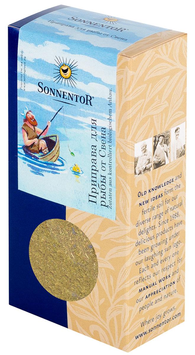 где купить Sonnentor Приправа для рыбы от Свена, 35 г по лучшей цене