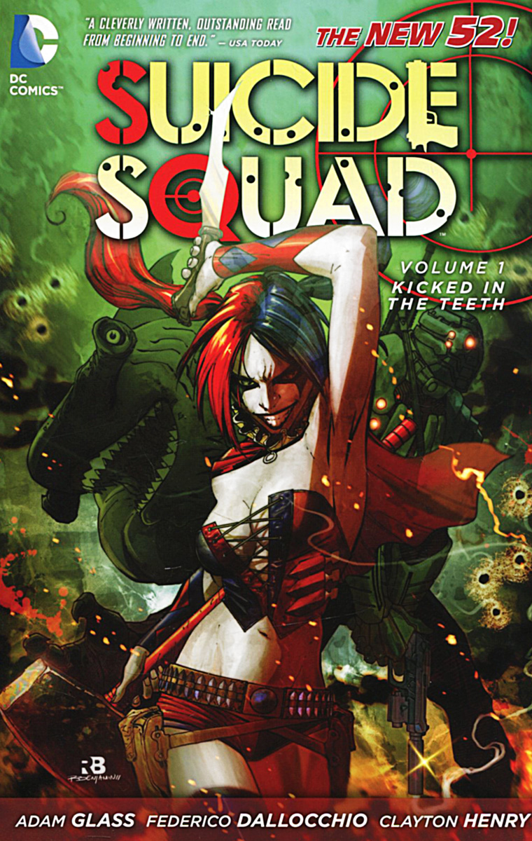 Suicide Squad: Volume 1: Kicked in the Teeth suicide squad volume 2 basilisk rising