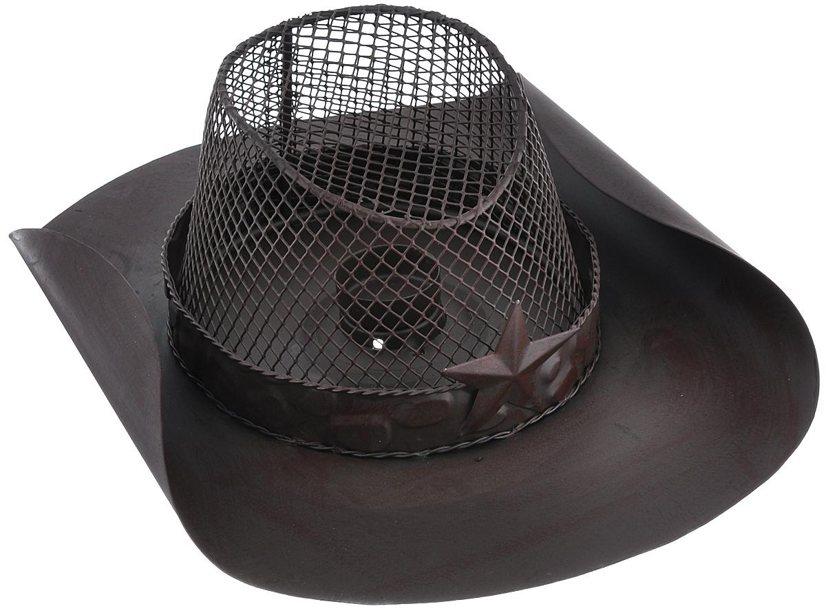 Подсвечник декоративный Феникс-презент Шляпа, 33,5 см х 25 см16449Декоративный подсвечник Феникс-презент Шляпа, изготовленный из черного металла, станет прекрасным выбором для тех, кто хочет сделать запоминающийся подарокродным и близким. Изделие выполнено в виде шляпы и и предназначено для одной свечи (свеча в комплект не входит). Кроме того, подсвечник может хорошо вписаться в интерьер вашего дома или дачи.Диаметр отверстия для свечи: 4,3 см.
