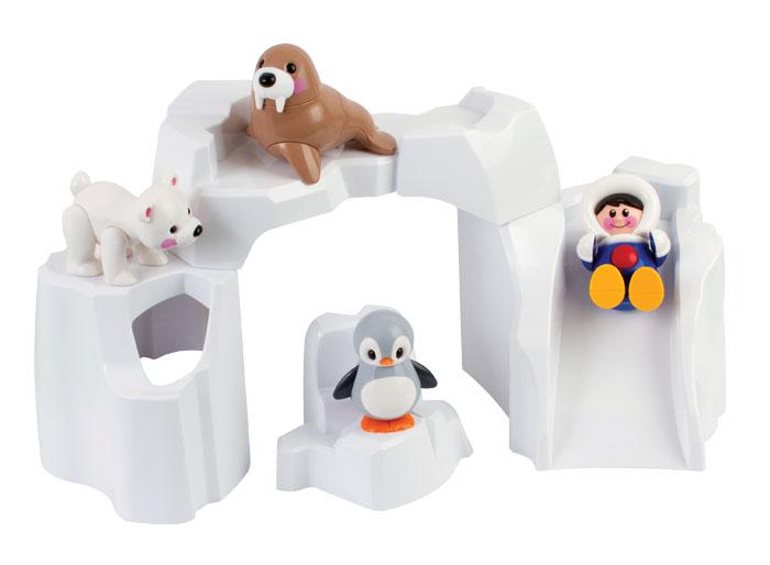 Tolo Игровой набор Полярные животные фигурки игрушки tolo фигурка пещерная девочка
