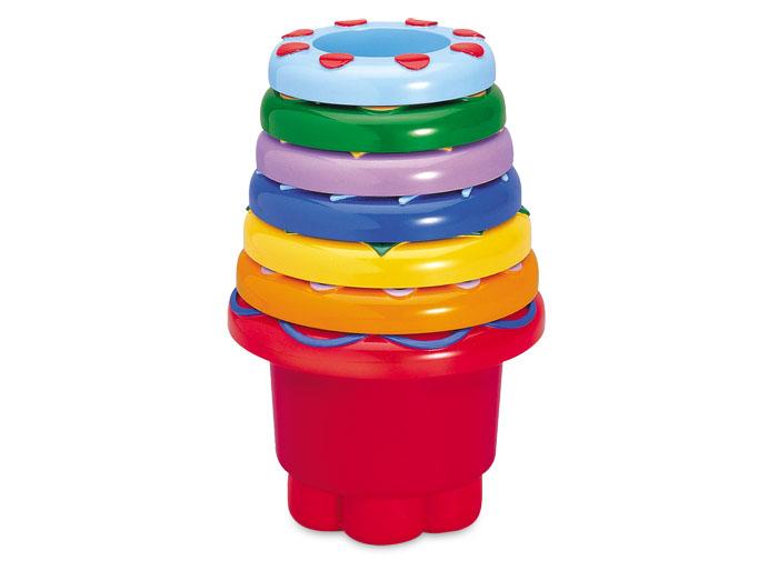 Tolo Classic Набор ведерок (круглые) игрушки для ванны tolo toys рыбки магнитные