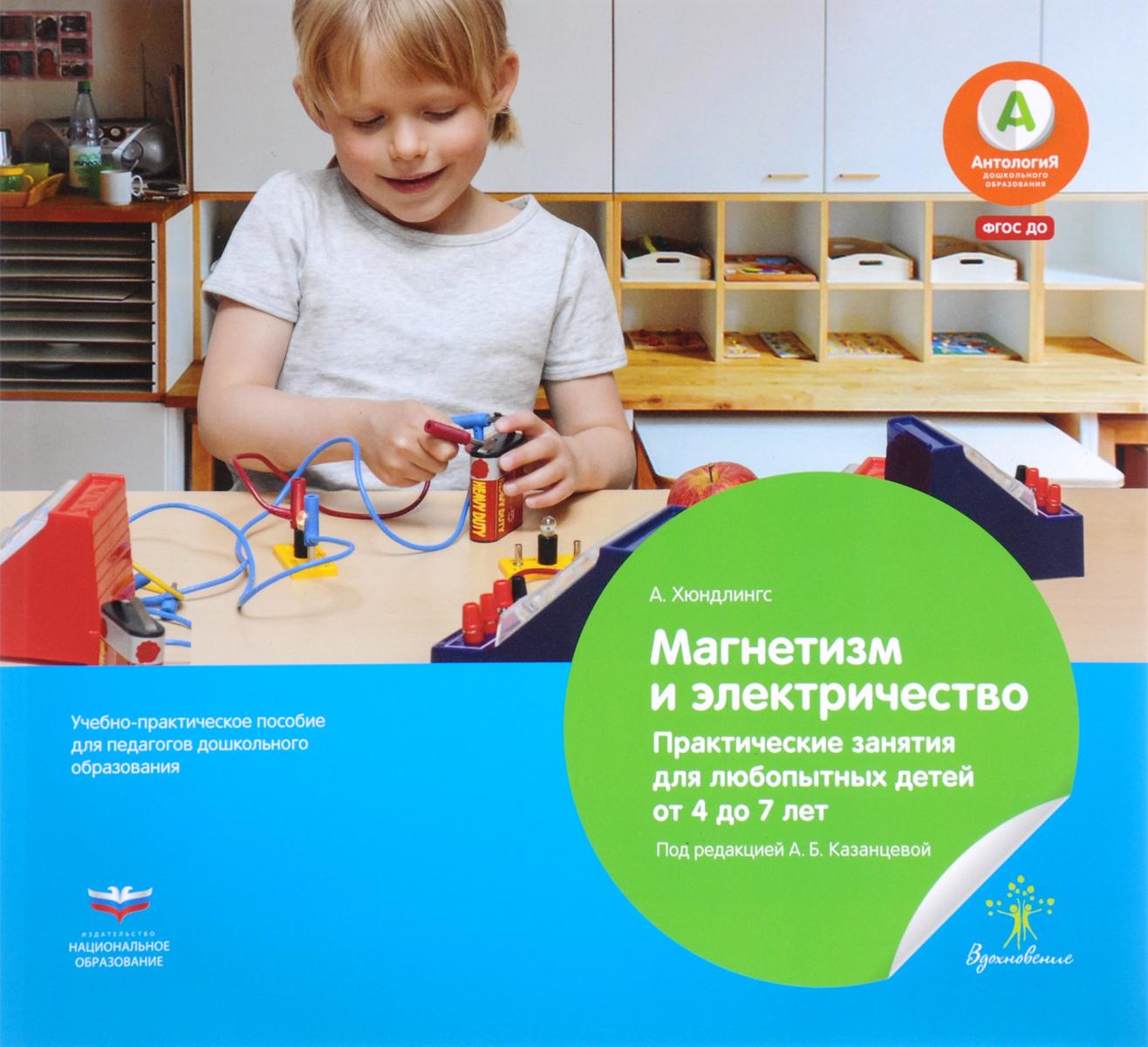 Магнетизм и электричество. Практические занятия для любопытных детей от 4 до 7 лет. Учебно-практическое пособие для педагогов дошкольного образования