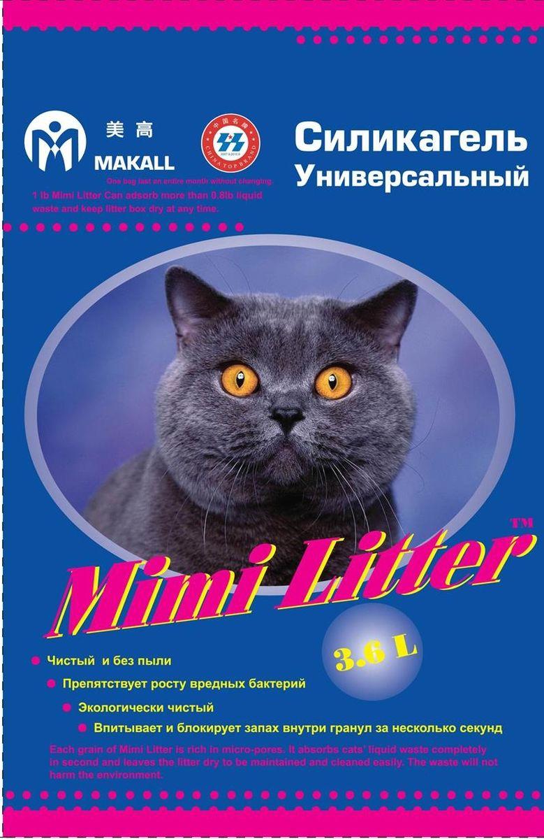 Mimi Litter Наполнитель силикагелевый для кошачьего туалета 3,6 л (1,81кг)54780