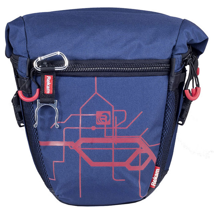 Rekam Pyramid RBX-55, Blue сумка для фотокамеры1401101213Стильная, эргономичная сумка Rekam Pyramid RBX-55 предназначена для зеркальной фотокамеры. Прочный материал, надежные молнии и крепления, обеспечивают максимальную защиту фототехники. Дополнительные отсеки и карманы позволяют разместить выносную фотовспышку и пару аксессуаров. Отсек для личных вещей, сделанный в форме мягкого раструба, при необходимости удобно складывается, и не занимает лишнего места.