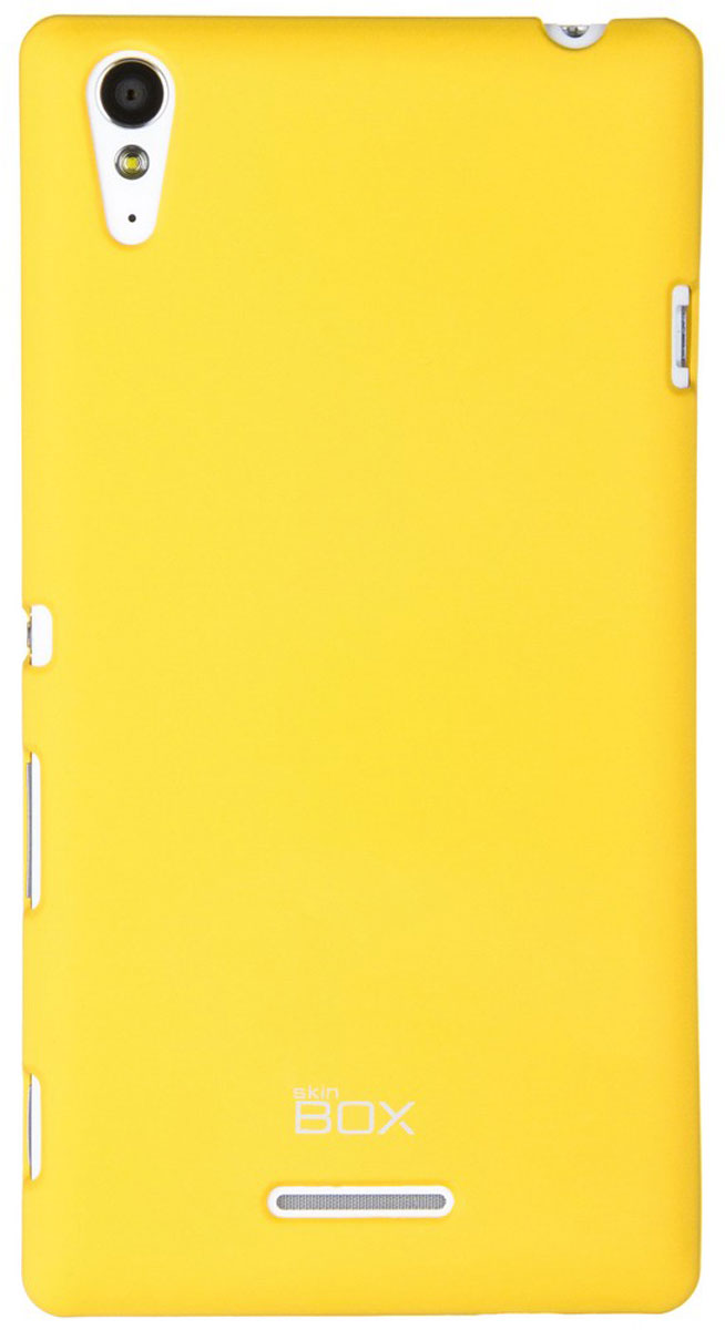Skinbox 4People чехол для Sony Xperia T3, Yellow чехлы для телефонов skinbox sony xperia c3 shield 4people