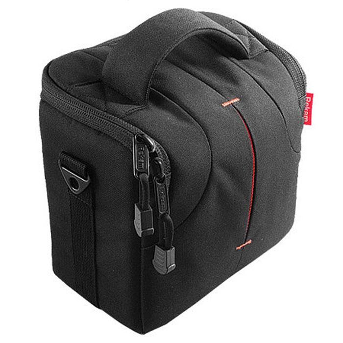 Rekam C300 сумка для фотокамеры1401100023В производстве сумки Rekam C300 используются легкие, прочные и приятные на ощупь материалы. Регулируемые, съемные разделители, позволяют надежно расположить технику и защищать ее от механических воздействий.Дополнительные детали обеспечивают особое удобство сумок: это и внутренние карманы под откидной крышкой для карт памяти, элементов питания и небольших аксессуаров, и металлические ушки крепления для плечевого ремня. Также предусмотрена петля для крепления на пояс и пластиковое укрепление дна для удобства транспортировки и защиты камеры от повреждений. В комплект также входит съемный регулируемый плечевой ремень c прорезиненной противоскользящей накладкой.