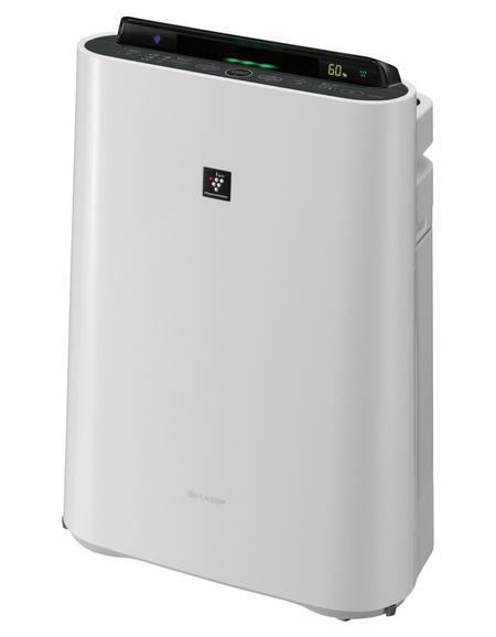 Sharp KCD41RW воздухоочистительKCD41RWУникальная технология ионизации и очистки воздуха Plasmacluster при помощи отрицательно и положительно заряженных ионов активно деактивирует переносимые по воздуху вирусы, бактерии, грибки плесени, аллергены и другие вредные примеси непосредственно в воздухе, а не в корпусе прибора. Кроме того, технология поддерживает в помещении баланс положительных и отрицательных ионов на уровне идеальных природных условий. Одновременные увлажнение и ионизация воздуха в режиме Ионный дождь усиливают эффективность очистки воздуха от вредных примесей и бытовой пыли, а также устраняет неприятные запахи и статическое электричество. Принцип увлажнения воздуха - традиционный (холодное испарение) - обеспечивает бережное естественное увлажнение воздуха без эффекта перенасыщения воздуха влагой и без осадков на мебели и растениях. Климатические комплексы Sharp оснащены сенсорами (пыли, запаха, температуры и влажности), которые постоянно контролируют состояние воздуха, автоматически настраивая работу прибора согласно уровню загрязнений и влажности воздуха. Информация о степени очистки воздуха отображается на многоступенчатом цветовом дисплее.