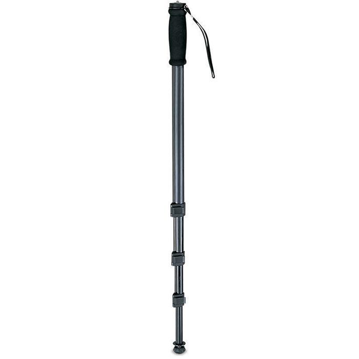 Rekam RM-120 штатив1214000100Rekam RM-120, как и штативы, применяется для стабилизации фотокамеры при фотосъемке. Основная особенность, отличающая монопод от штатива – наличие одной опорной ноги. Монопод не избавляет фотоаппарат от шевеленки полностью, тем не менее, позволяет поставить выдержку на один-два стопа большую, нежели при съемке с рук.Главное преимущество монопода – мобильность; фотограф со штативом фактически привязан к одной точке (сворачивание-установка штатива занимает около минуты), в то время как с моноподом он может двигаться, отыскивая подходящие ракурсы. Rekam RM-120 имеет удобный и жесткий фиксатор для изменения высоты ноги, а также легкую и прочную сумку-чехол, для переноса и защиты от механических повреждений. Очень удобно использовать монопод для репортажной съемки. В этом случае он просто незаменим, так как при большом скоплении людей, просто нет возможности установить штатив.Тип головы: без головы Сечение ноги: круглое Мягкие муфты Наконечники опор: шип+резина