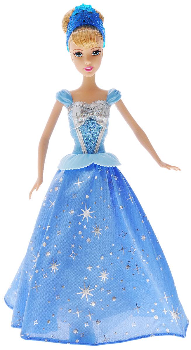 Disney Princess Кукла Принцесса Золушка с развевающейся юбкой наборы для поделок чудо творчество disney princess аппликация из песка золушка на балу