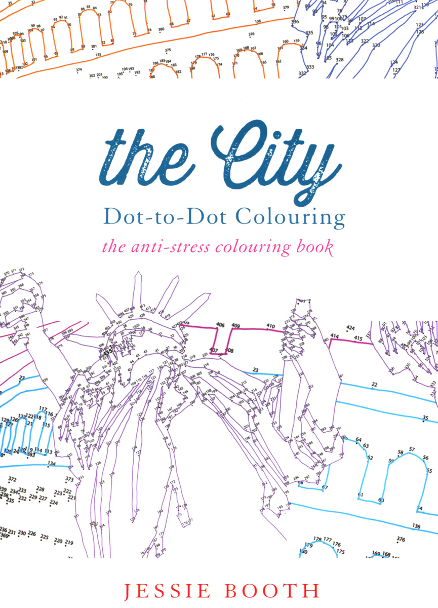 The City: Dot to Dot Colouring 2018 календарь dot to dot 30 30 pgp 5286 v