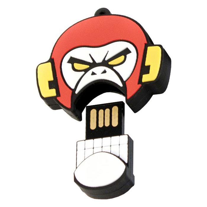 USBSOUVENIR Evil Monkey 64GB, White Red USB-накопитель - Носители информации