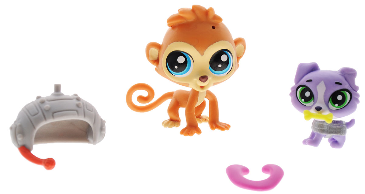 Littlest Pet Shop Набор фигурок Cheep Cheep Chipman & Luke Yorkshire