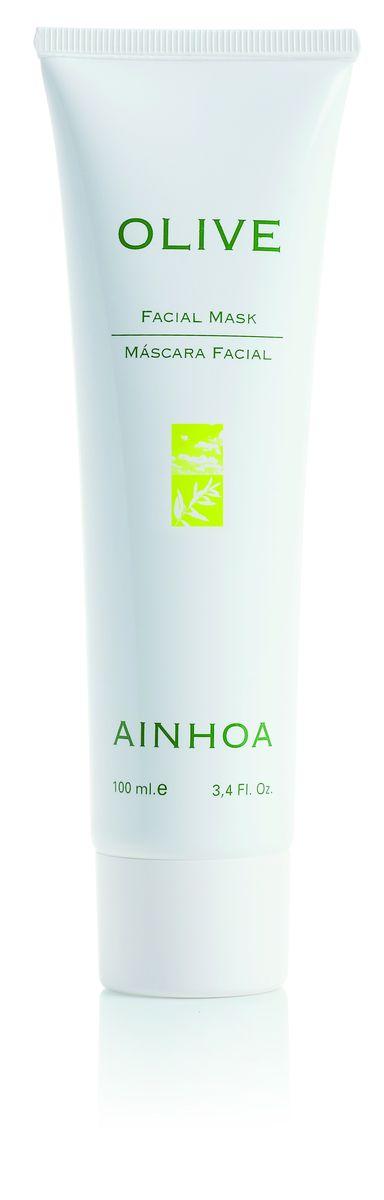 Ainhoa Olive Освежающая увлажняющая гель-маска для лица, 100 мл