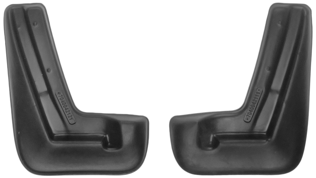 Комплект брызговиков передних L.Locker, для Subaru XV (11-), 2 шт коврик в багажник l locker для subaru xv 11