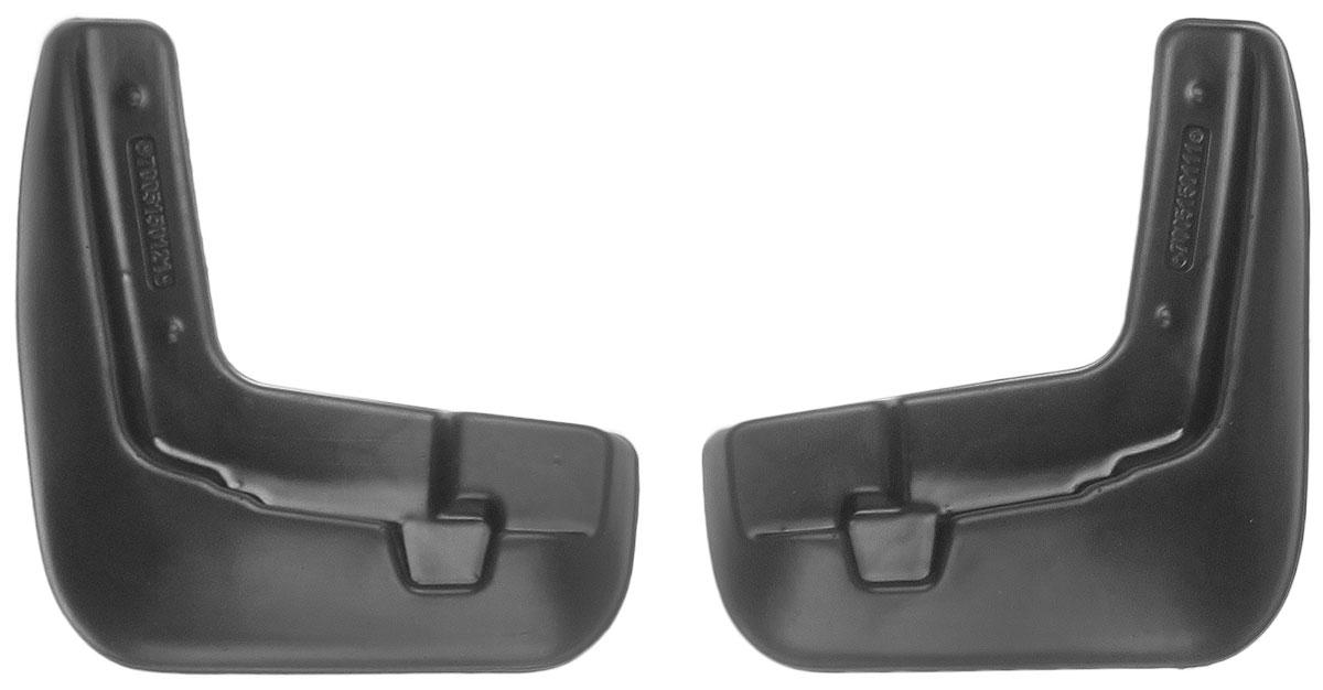 Комплект передних брызговиков L.Locker, для Nissan Sentra VII (B17) (12-), 2 шт7005150151Комплект L.Locker состоит из 2 передних брызговиков, изготовленных из высококачественного полиуретана. Уникальный состав брызговиков допускает их эксплуатацию в широком диапазоне температур: от -50°С до +50°С. Изделия эффективно защищают кузов автомобиля от грязи и воды, формируют аэродинамический поток воздуха, создаваемый при движении вокруг кузова таким образом, чтобы максимально уменьшить образование грязевой измороси, оседающей на автомобиле. Разработаны индивидуально для каждой модели автомобиля. С эстетической точки зрения брызговики являются завершением колесных арок.Установка брызговиков достаточно быстрая. В комплект входят необходимые крепежи и инструкция на русском языке. Комплект подходит для моделей с 2012 года выпуска.Комплектация: 2 шт.Размер брызговика: 22 см х 25 см х 3 см.