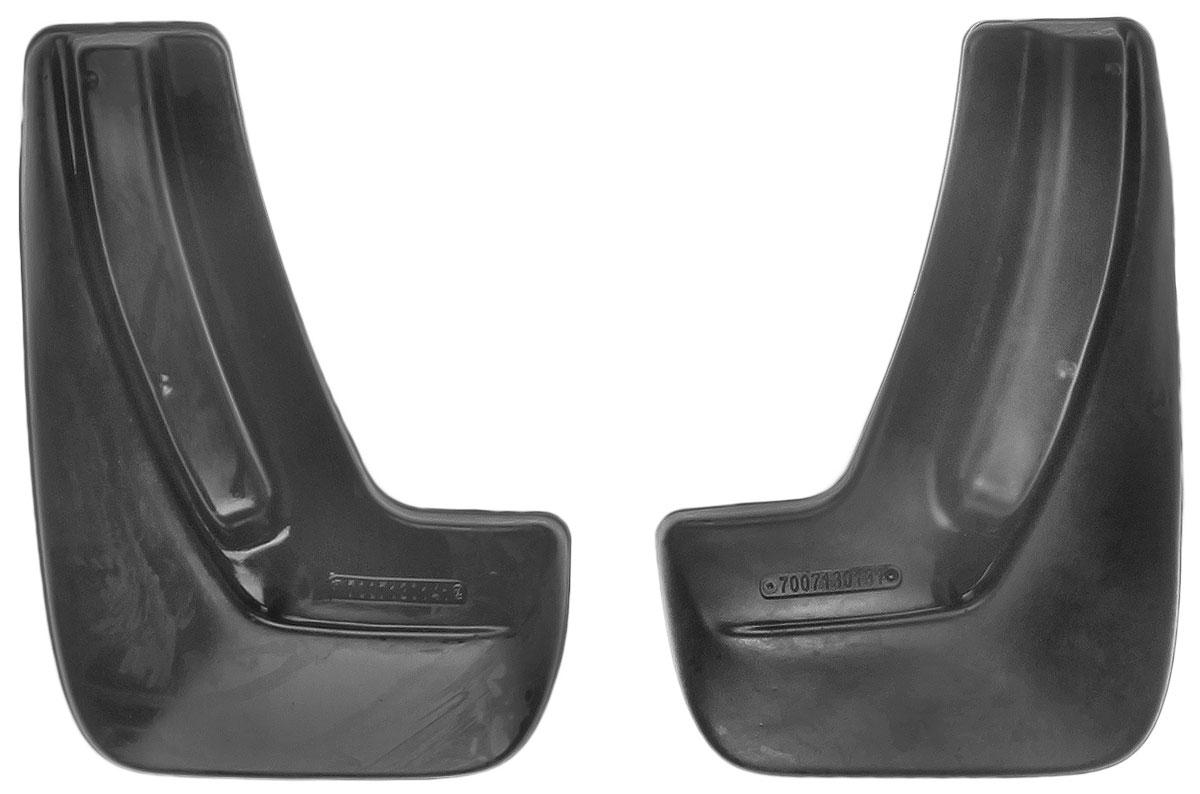 Комплект задних брызговиков L.Locker, для Chevrolet Cobalt sd (12-), 2 шт7007130161Комплект L.Locker состоит из 2 задних брызговиков, изготовленных из высококачественного полиуретана. Уникальный состав брызговиков допускает их эксплуатацию в широком диапазоне температур: от -50°С до +50°С. Изделия эффективно защищают кузов автомобиля от грязи и воды, формируют аэродинамический поток воздуха, создаваемый при движении вокруг кузова таким образом, чтобы максимально уменьшить образование грязевой измороси, оседающей на автомобиле. Разработаны индивидуально для каждой модели автомобиля. С эстетической точки зрения брызговики являются завершением колесных арок.Установка брызговиков достаточно быстрая. В комплект входят необходимые крепежи и инструкция на русском языке. Комплект подходит для моделей с 2012 года выпуска.Комплектация: 2 шт.Размер брызговика: 31,5 см х 22,5 см х 3 см.