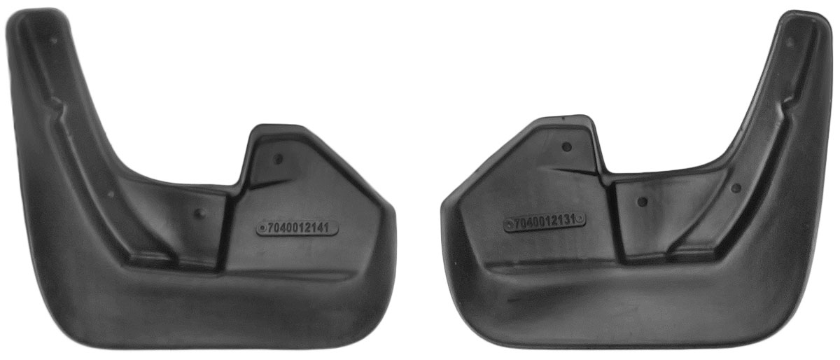 Комплект задних брызговиков L.Locker, для Subaru Forester (08-), 2 шт7040012161Комплект L.Locker состоит из 2 задних брызговиков, изготовленных из высококачественного полиуретана. Уникальный состав брызговиков допускает их эксплуатацию в широком диапазоне температур: от -50°С до +50°С. Изделия эффективно защищают кузов автомобиля от грязи и воды, формируют аэродинамический поток воздуха, создаваемый при движении вокруг кузова таким образом, чтобы максимально уменьшить образование грязевой измороси, оседающей на автомобиле. Разработаны индивидуально для каждой модели автомобиля. С эстетической точки зрения брызговики являются завершением колесных арок.Установка брызговиков достаточно быстрая. В комплект входят необходимые крепежи и инструкция на русском языке. Комплект подходит для моделей с 2008 года выпуска.Комплектация: 2 шт.Размер брызговика: 23 см х 26 см х 3 см.