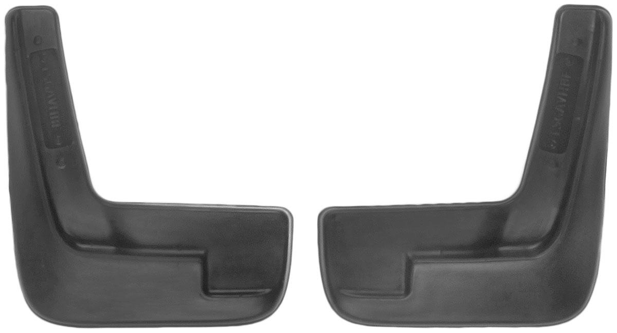 Комплект передних брызговиков L.Locker, для Chevrolet Aveo II sd (12-), 2 шт