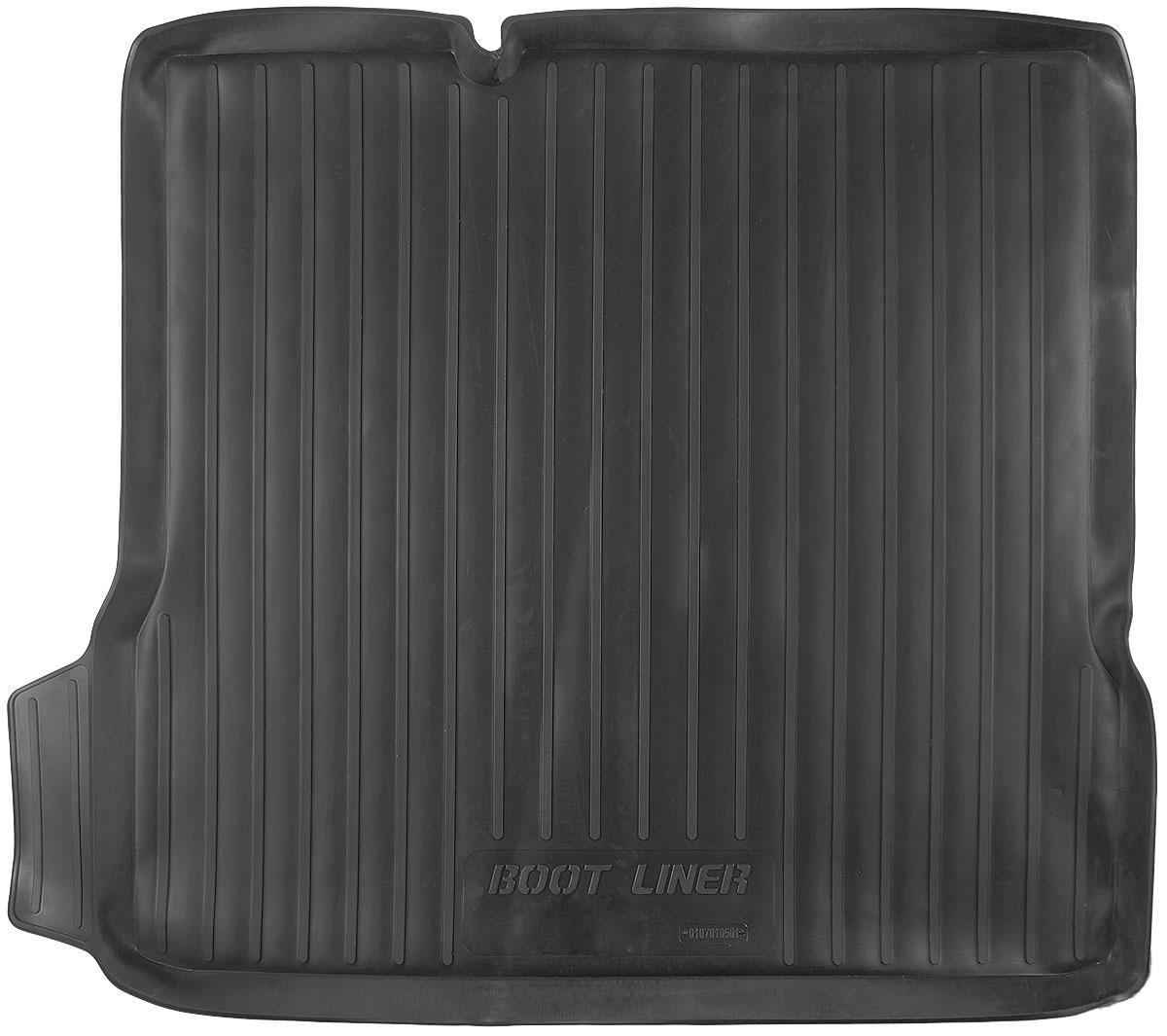 Коврик в багажник L.Locker, для Chevrolet Aveo II sd (12-)0107010501Коврик L.Locker производится индивидуально для каждой модели автомобиля из современного и экологически чистого материала. Изделие точно повторяет геометрию пола автомобиля, имеет высокий борт, обладает повышенной износоустойчивостью, антискользящими свойствами, лишен резкого запаха и сохраняет свои потребительские свойства в широком диапазоне температур (от -50°С до +80°С).
