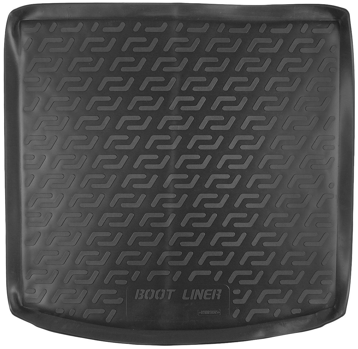 Коврик в багажник L.Locker, для Mitsubishi Outlander III (12-) box0108010501Коврик L.Locker производится индивидуально для каждой модели автомобиля из современного и экологически чистого материала. Изделие точно повторяет геометрию пола автомобиля, имеет высокий борт, обладает повышенной износоустойчивостью, антискользящими свойствами, лишен резкого запаха и сохраняет свои потребительские свойства в широком диапазоне температур (от -50°С до +80°С).