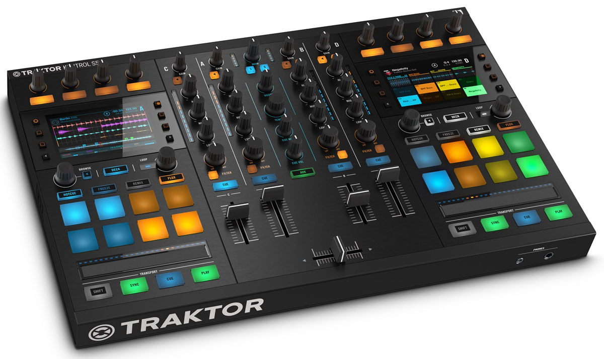 Native Instruments Traktor Kontrol S5, Black DJ-контроллер - DJ-оборудование