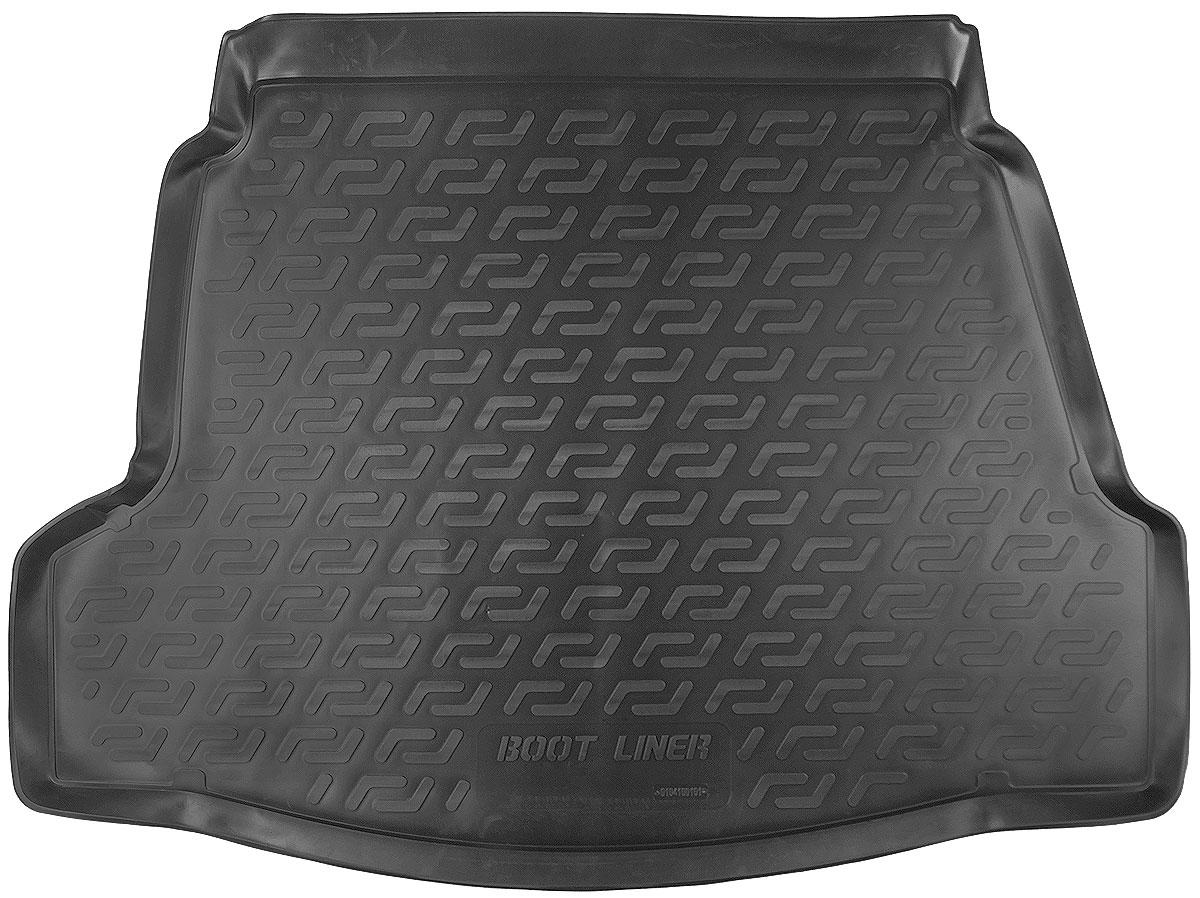 Коврик в багажник L.Locker, для Hyundai i40 sd (11-)0104100101Коврик L.Locker производится индивидуально для каждой модели автомобиля из современного и экологически чистого материала. Изделие точно повторяет геометрию пола автомобиля, имеет высокий борт, обладает повышенной износоустойчивостью, антискользящими свойствами, лишен резкого запаха и сохраняет свои потребительские свойства в широком диапазоне температур (от -50°С до +80°С).