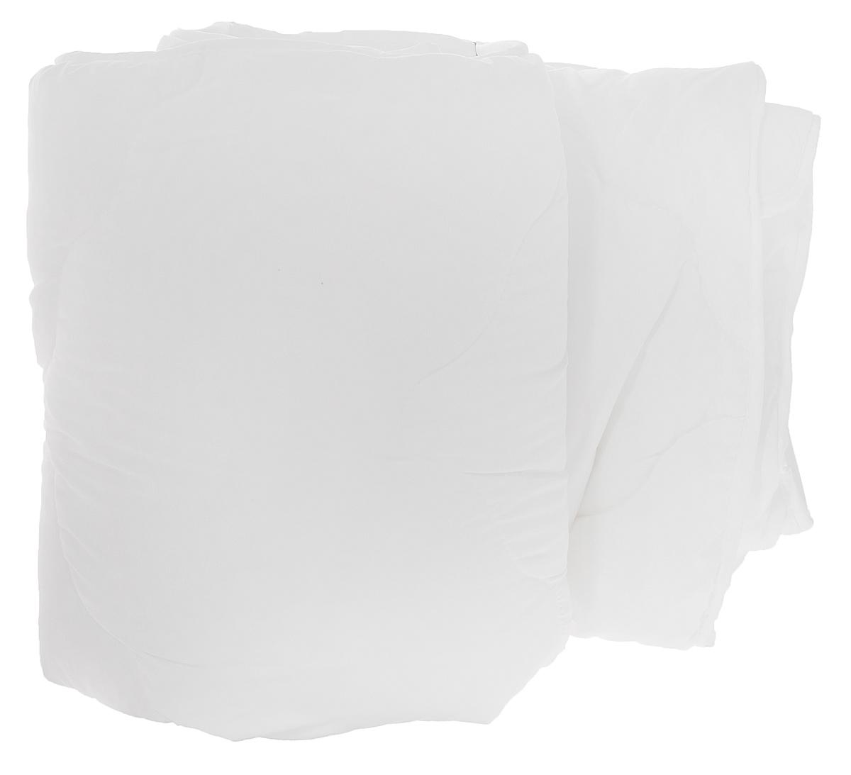 Одеяло Dargez Бомбей, легкое, наполнитель: бамбуковое волокно, цвет: белый, 172 см х 205 см20(23)341_белыйОдеяло Dargez Бомбей подарит комфорт и уют во время сна. Чехол одеяла, выполненный из микрофибры и оформлен фигурной стежкой, которая надежно удерживает наполнитель внутри. Волокно на основе бамбука - инновационный наполнитель, обладающий за счет своей пористой структуры хорошей воздухонепроницаемостью и высокой гигроскопичностью, обеспечивает оптимальный уровень влажности во время сна и создает чувство прохлады в жаркие дни. Антибактериальный эффект наполнителя достигается за счет содержания в нем специального компонента, а также за счет поглощения влаги, что создает сухой микроклимат, препятствующий росту бактерий. Основные свойства волокна: - хорошая терморегуляция; - свободная циркуляция воздуха; - антибактериальные свойства; - повышенная гигроскопичность; - мягкость и легкость; - удобство в эксплуатации и легкость стирки. Рекомендации по уходу: - Стирка при температуре не более 40°С. - Запрещается отбеливать, гладить.- Можно выжимать и сушить в стиральной машине.Материал чехла: микрофибра (100% полиэстер). Материал наполнителя: 50% бамбуковое волокно (вискоза), 50% полое силиконизированное пэ волокно. Размер одеяла: 172 см х 205 см.