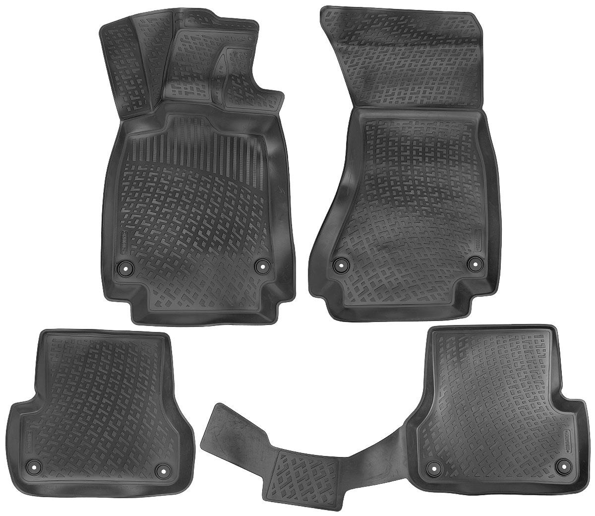 Набор автомобильных ковриков L.Locker Audi A6 IV 2014-0200040601Набор L.Locker Audi A6 IV 2014-, изготовленный из полиуретана, состоит из 4 антискользящих ковриков, которые производятся индивидуально для каждой модели автомобиля. Изделие точно повторяет геометрию пола автомобиля, имеет высокий борт, обладает повышенной износоустойчивостью, лишено резкого запаха и сохраняет свои потребительские свойства в широком диапазоне температур от -50°С до +50°С.Комплектация: 4 шт.Размер ковриков: 89 см х 56 см; 55 см х 51 см; 109 см х 49 см; 89 см х 57 см.