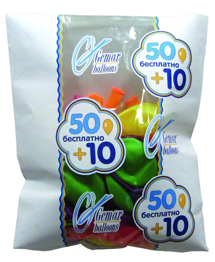 все цены на Gemar Набор воздушных шаров 60 шт онлайн
