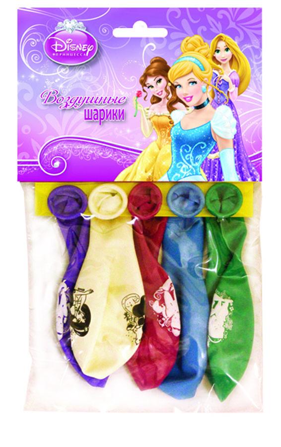 Веселая затея Набор воздушных шаров Принцессы 5 шт