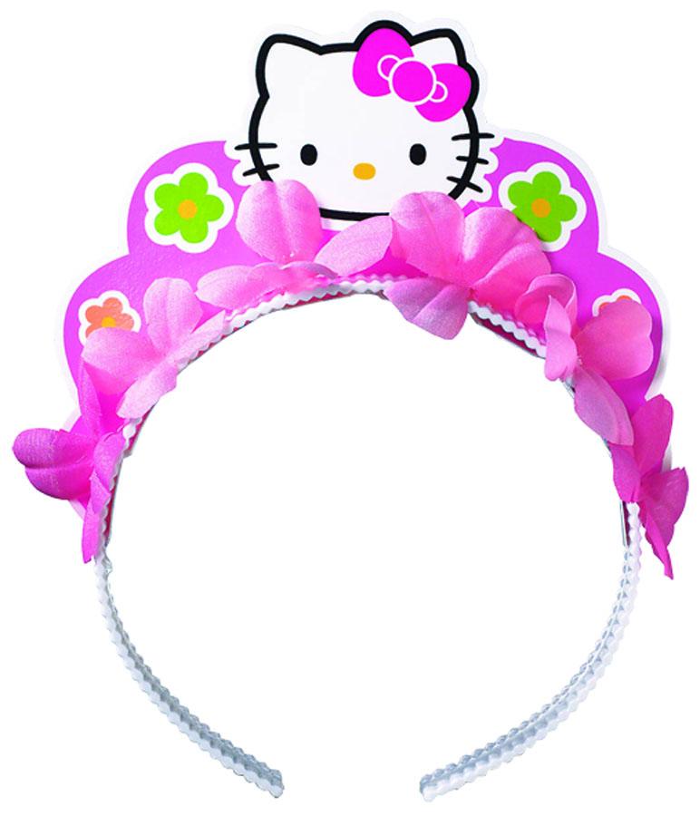 Веселая затея Ободок Hello Kitty Цветы
