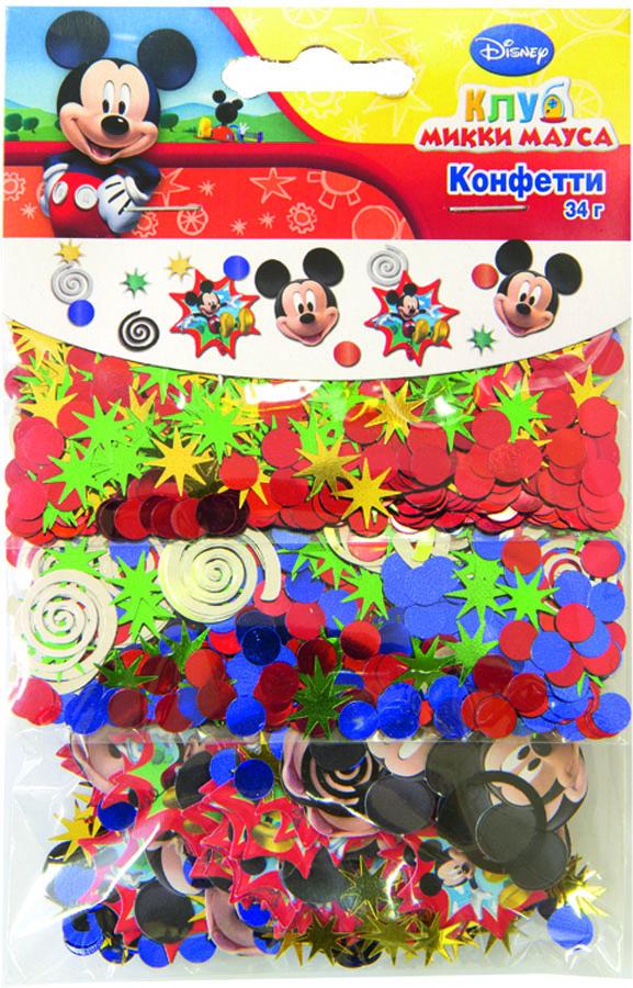Веселая затея Конфетти Микки Маус 3 вида -  Конфетти