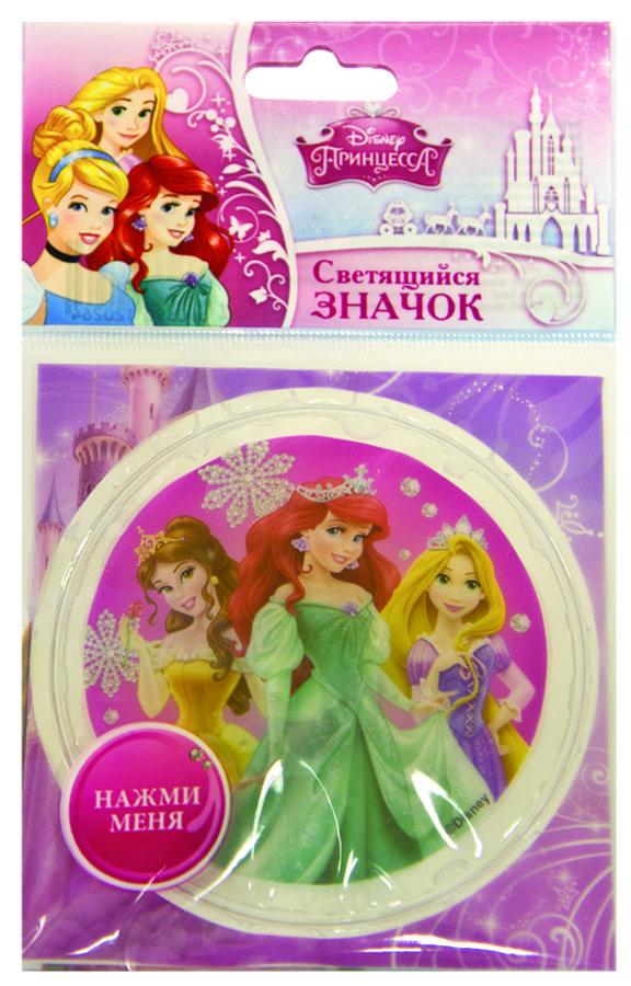 Веселая затея Значок Disney Принцессы светодиодный