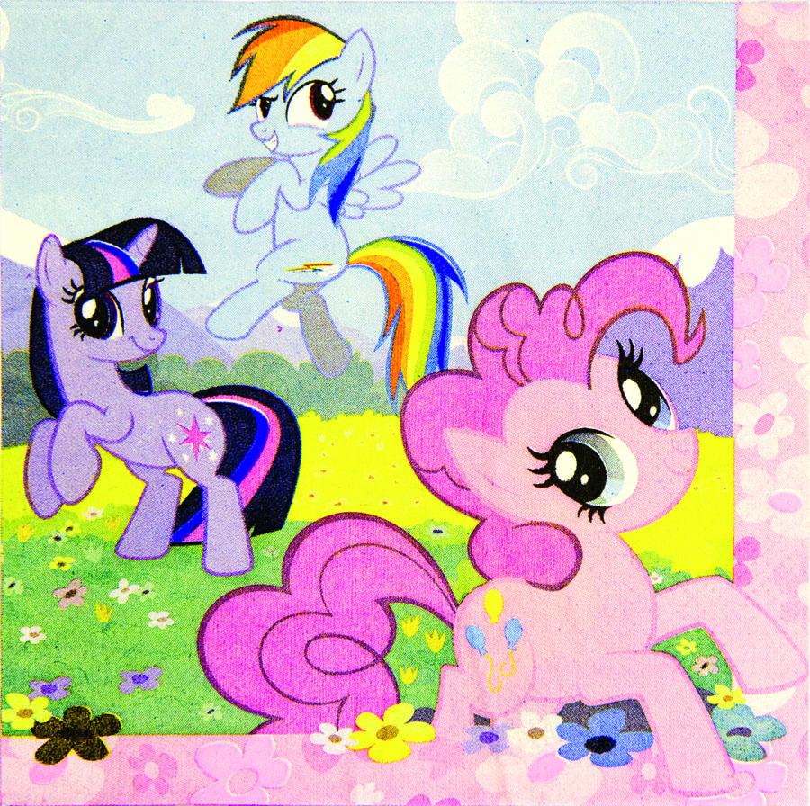 Amscan Салфетка My Little Pony 16 шт