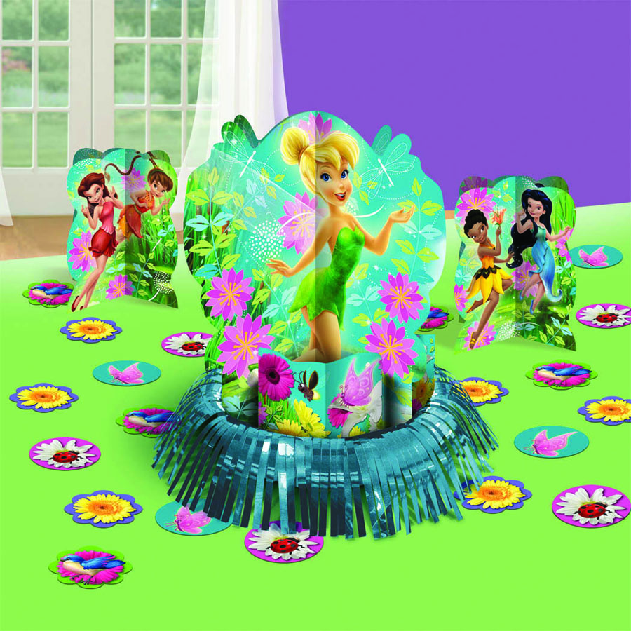 Amscan Набор для декора настольный Disney Феи костюм феи динь динь зеленый 46 48